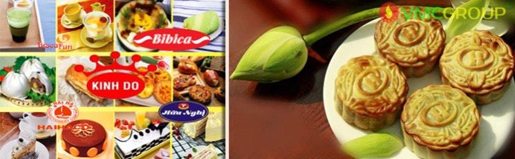 Phụ gia thực phẩm trong sản xuất bánh kẹo, kem...