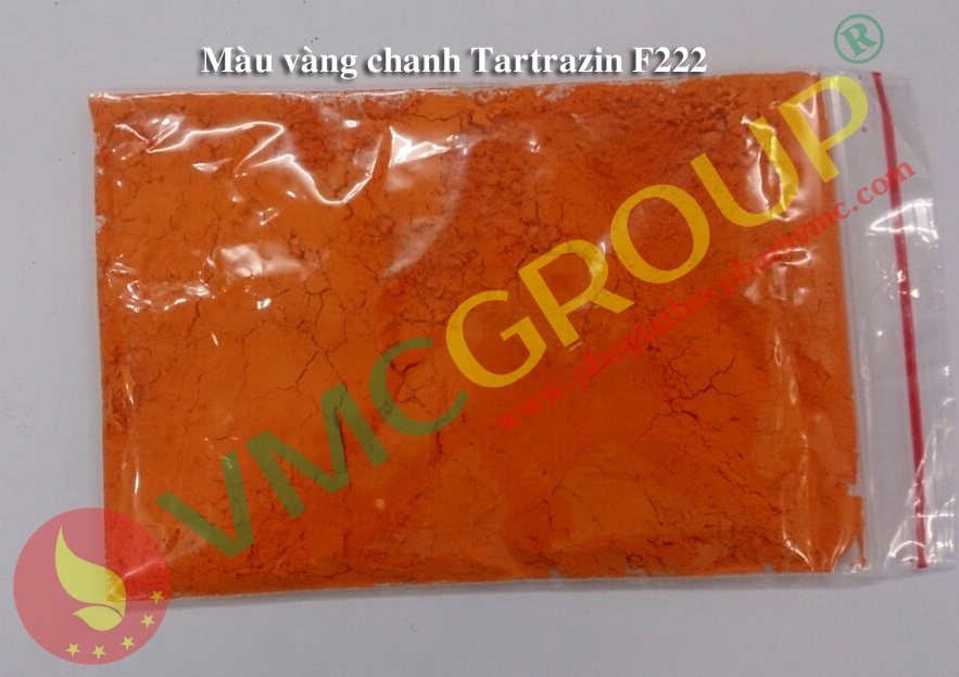 Mau Vang chanh Tartrazine F222 md