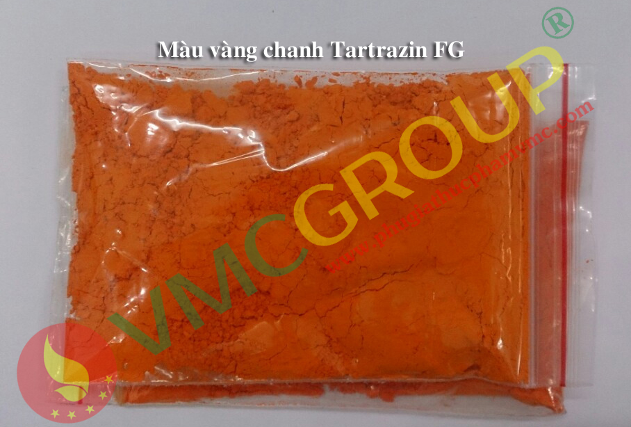 mau vang chanhTartrazine FG md