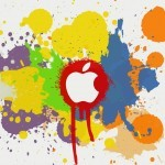 Apple-Color-Splash-Effect-ipad-wallpaper-ilikewallpaper_com-150x150