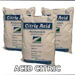ACID CITRIC MONOHYDRATE C6H8O7.H2O – ACID CHANH – BỘT CHUA – E330