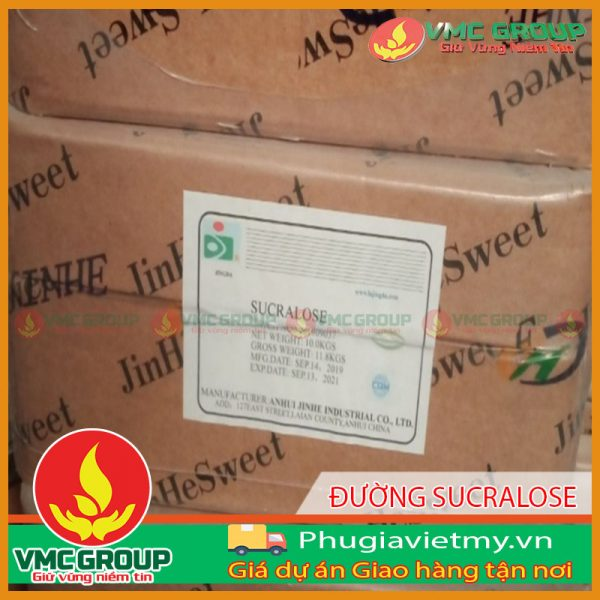 CHẤT TẠO NGỌT SUCRALOSE